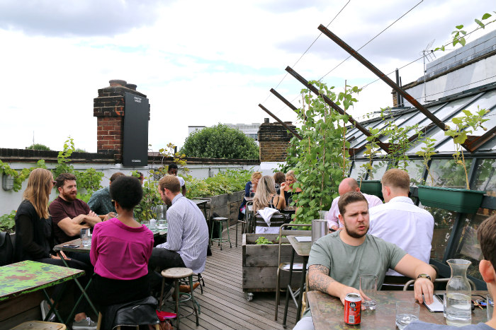 London rooftop bar The Culpeper 6