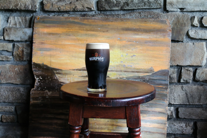 pint of stout Murphy's Ireland