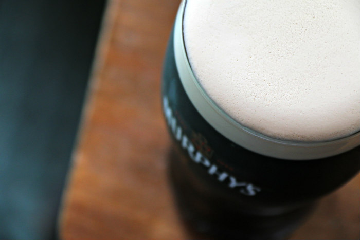 the perfect pint of stout - murphy's